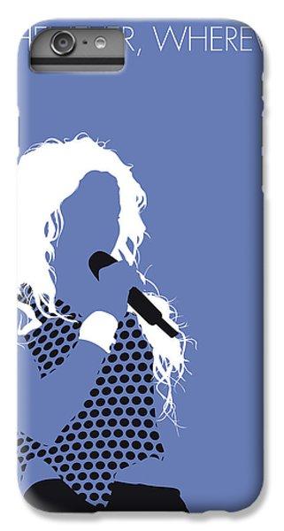 Shakira iPhone 6 Plus Case - No168 My Shakira Minimal Music Poster by Chungkong Art
