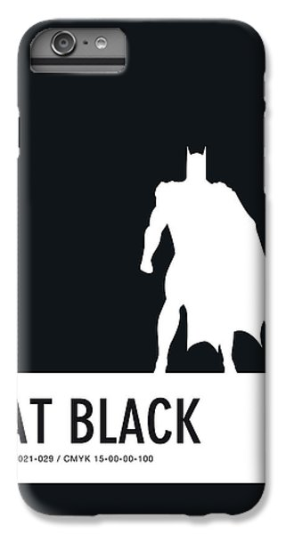 Spider iPhone 6 Plus Case - No20 My Minimal Color Code Poster Batman by Chungkong Art