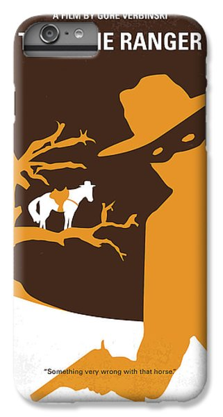 No202 My The Lone Ranger Minimal Movie Poster IPhone 6 Plus Case by Chungkong Art