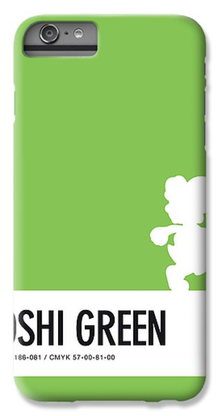 Daisy iPhone 6 Plus Case - No36 My Minimal Color Code Poster Yoshi by Chungkong Art