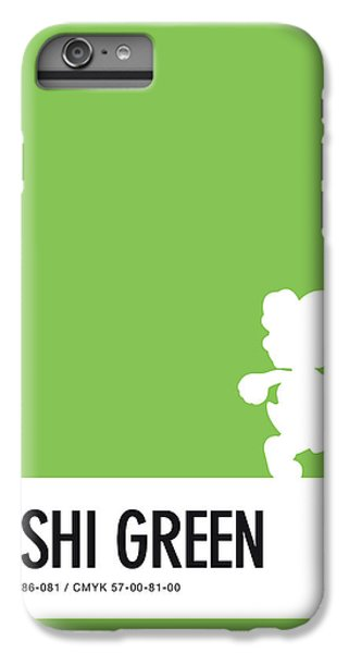 Floral iPhone 6 Plus Case - No36 My Minimal Color Code Poster Yoshi by Chungkong Art