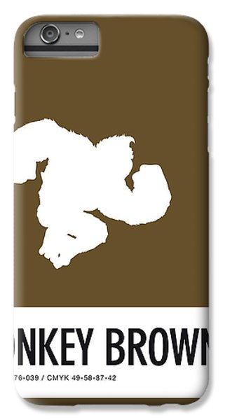Floral iPhone 6 Plus Case - No37 My Minimal Color Code Poster Donkey Kong by Chungkong Art