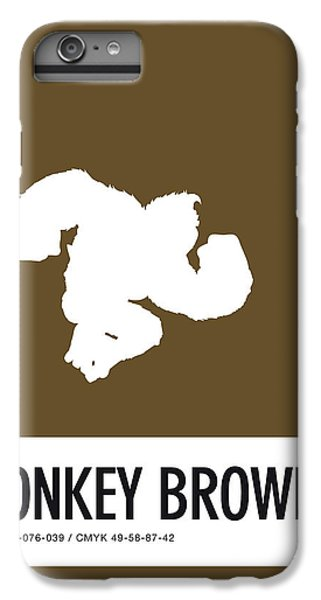 Daisy iPhone 6 Plus Case - No37 My Minimal Color Code Poster Donkey Kong by Chungkong Art