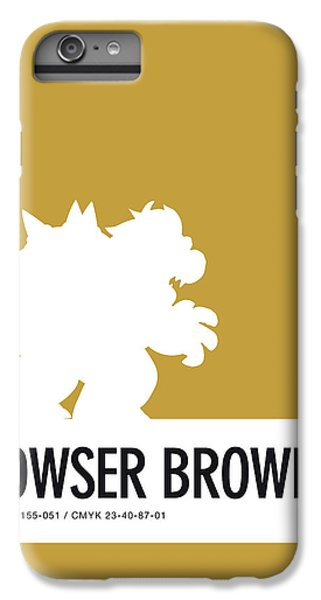 Daisy iPhone 6 Plus Case - No38 My Minimal Color Code Poster Bowser by Chungkong Art