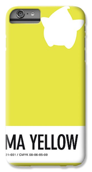 Floral iPhone 6 Plus Case - No40 My Minimal Color Code Poster Luma by Chungkong Art