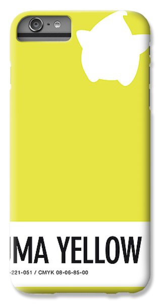 Daisy iPhone 6 Plus Case - No40 My Minimal Color Code Poster Luma by Chungkong Art