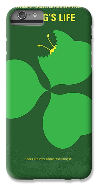 No401 My A Bugs Life Minimal Movie Poster IPhone 6 Plus Case by Chungkong Art