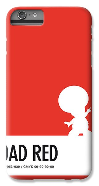 Daisy iPhone 6 Plus Case - No41 My Minimal Color Code Poster Toad by Chungkong Art