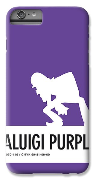 Daisy iPhone 6 Plus Case - No42 My Minimal Color Code Poster Waluigi by Chungkong Art