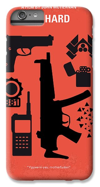 Los Angeles iPhone 6 Plus Case - No453 My Die Hard Minimal Movie Poster by Chungkong Art