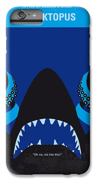 Sharks iPhone 6 Plus Case - No485 My Sharktopus Minimal Movie Poster by Chungkong Art