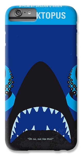 No485 My Sharktopus Minimal Movie Poster IPhone 6 Plus Case by Chungkong Art