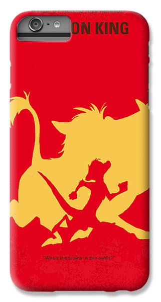 Meerkat iPhone 6 Plus Case - No512 My The Lion King Minimal Movie Poster by Chungkong Art