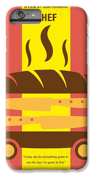 No524 My Chef Minimal Movie Poster IPhone 6 Plus Case by Chungkong Art