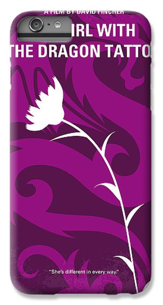 Dragon iPhone 6 Plus Case - No528 My The Girl With The Dragon Tattoo Minimal Movie Poster by Chungkong Art