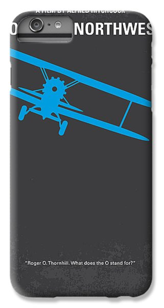 Mount Rushmore iPhone 6 Plus Case - No535 My North By Northwest Minimal Movie Poster by Chungkong Art
