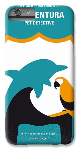 No558 My Ace Ventura Minimal Movie Poster IPhone 6 Plus Case by Chungkong Art