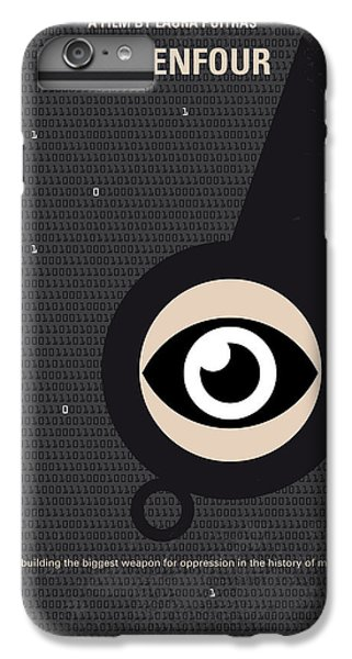 No598 My Citizenfour Minimal Movie Poster IPhone 6 Plus Case by Chungkong Art