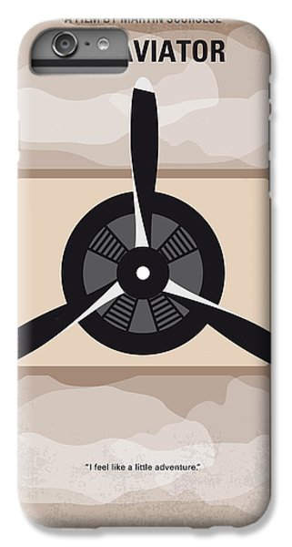 Airplane iPhone 6 Plus Case - No618 My The Aviator Minimal Movie Poster by Chungkong Art
