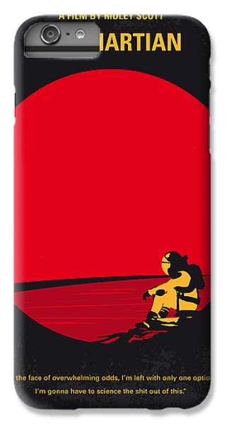 No620 My The Martian Minimal Movie Poster IPhone 6 Plus Case by Chungkong Art