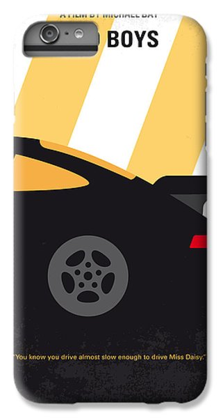 Miami iPhone 6 Plus Case - No627 My Bad Boys Minimal Movie Poster by Chungkong Art