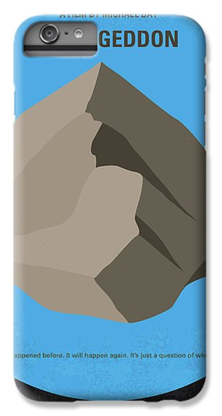 No695 My Armageddon Minimal Movie Poster IPhone 6 Plus Case by Chungkong Art