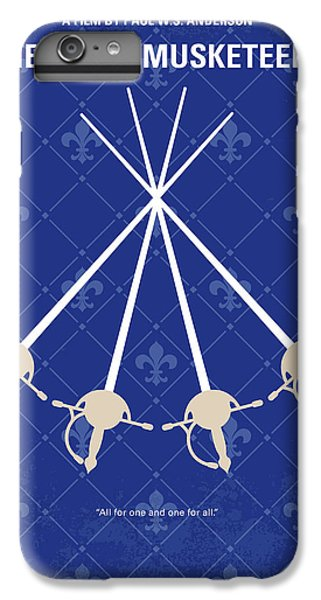 Cardinal iPhone 6 Plus Case - No724 My The Three Musketeers Minimal Movie Poster by Chungkong Art