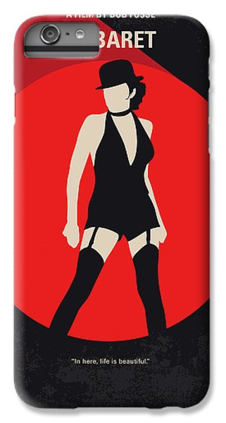 Berlin iPhone 6 Plus Case - No742 My Cabaret Minimal Movie Poster by Chungkong Art