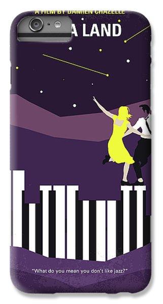 No756 My La La Land Minimal Movie Poster IPhone 6 Plus Case by Chungkong Art