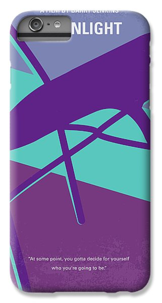 Miami iPhone 6 Plus Case - No757 My Moonlight Minimal Movie Poster by Chungkong Art