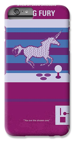 Unicorn iPhone 6 Plus Case - No770 My Kung Fury Minimal Movie Poster by Chungkong Art
