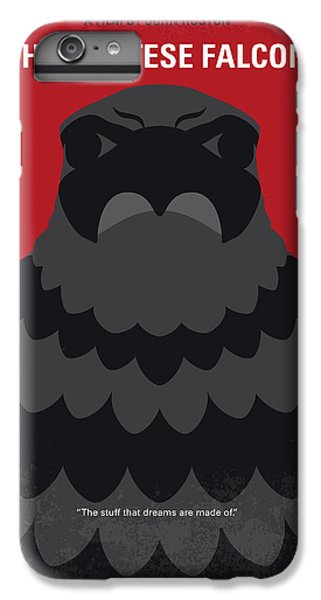 Falcon iPhone 6 Plus Case - No780 My The Maltese Falcon Minimal Movie Poster by Chungkong Art