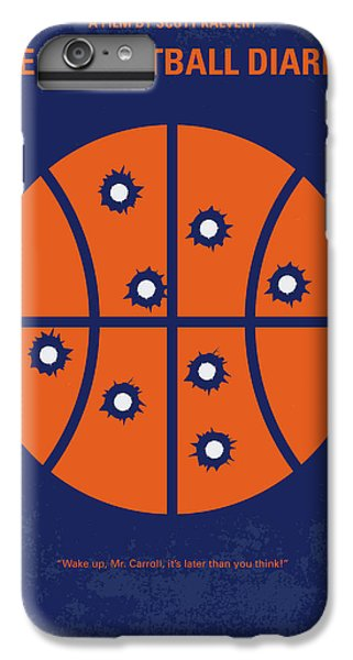 Basketball iPhone 6 Plus Case - No782 My The Basketball Diaries Minimal Movie Poster by Chungkong Art