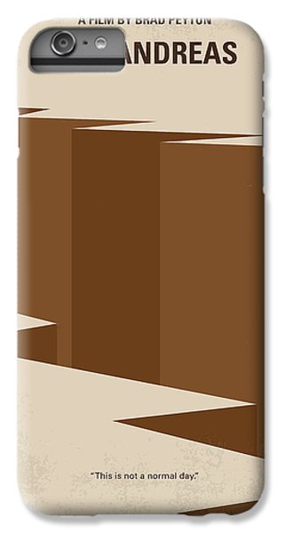 061276009 Dwayne iPhone 6 Plus Case - No810 My San Andreas Minimal Movie Poster by  Chungkong Art
