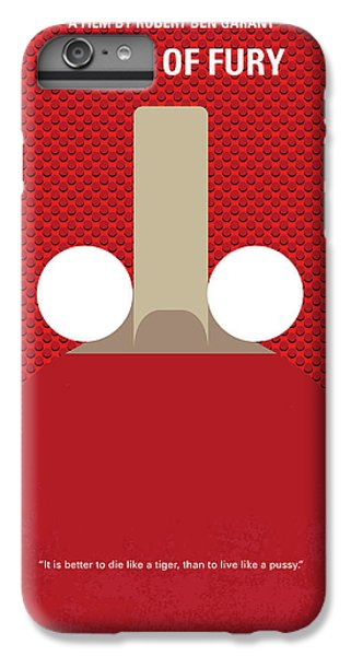 London Tube iPhone 6 Plus Case - No822 My Balls Of Fury Minimal Movie Poster by Chungkong Art
