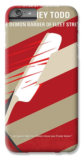 No849 My Sweeney Todd Minimal Movie Poster IPhone 6 Plus Case
