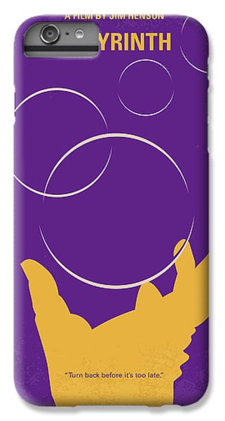 Knight iPhone 6 Plus Case - No928 My Labyrinth Minimal Movie Poster by Chungkong Art