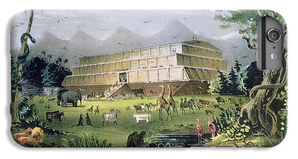 Noahs Ark IPhone 6 Plus Case by Currier and Ives