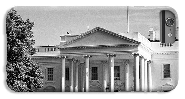 Whitehouse iPhone 6 Plus Case - north facade of the White House with flag flying Washington DC USA by Joe Fox