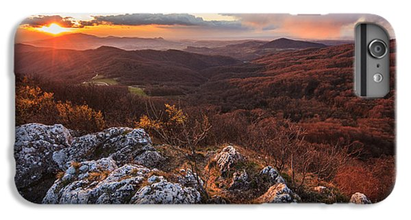 Mountain Sunset iPhone 6 Plus Case - Northern Territory by Davorin Mance