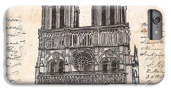 Notre Dame De Paris IPhone 6 Plus Case by Debbie DeWitt
