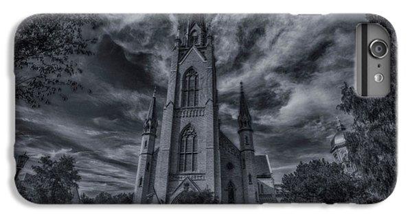 Notre Dame University Church IPhone 6 Plus Case by David Haskett