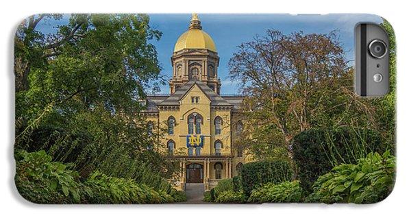 Notre Dame University Q IPhone 6 Plus Case by David Haskett