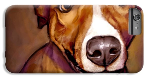 Dog iPhone 6 Plus Case - Number One Fan by Sean ODaniels