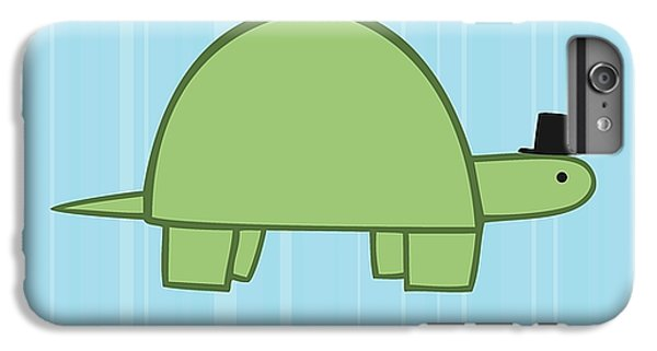 Tortoise iPhone 6 Plus Case - Nursery Art Boy Turtle by Christy Beckwith