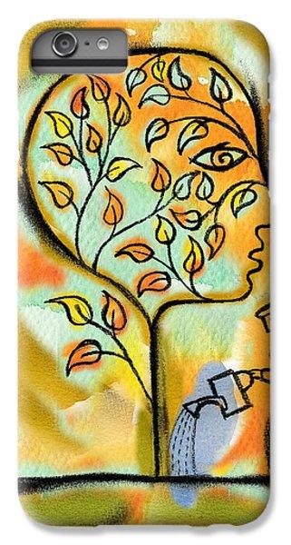 Garden iPhone 6 Plus Case - Nurturing And Caring by Leon Zernitsky