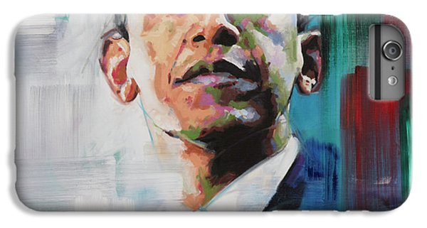 Barack Obama iPhone 6 Plus Case - Obama by Richard Day