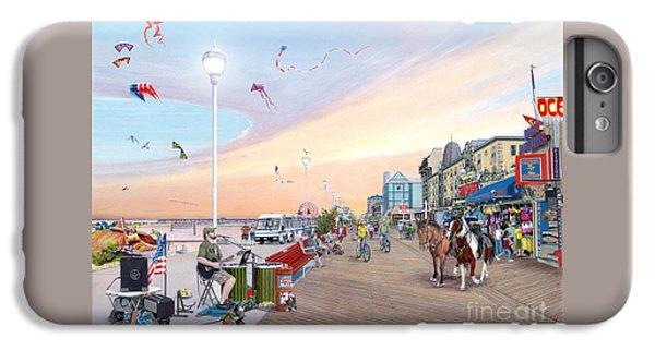 City Sunset iPhone 6 Plus Case - Ocean City Maryland by Albert Puskaric