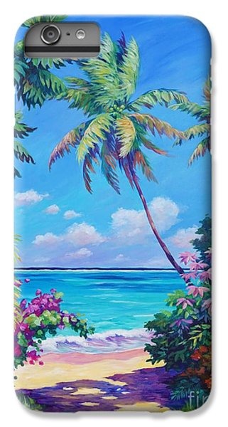 Ocean View With Breadfruit Tree IPhone 6 Plus Case by John Clark