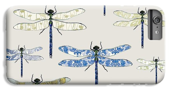 Odonata IPhone 6 Plus Case by Sarah Hough